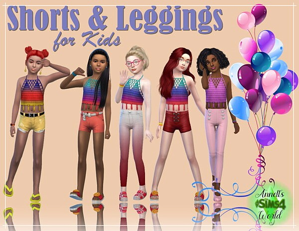 Shorts and Leggings for Kids