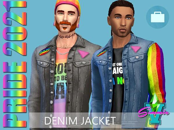 SimmieV Pride21 Denim Jacket