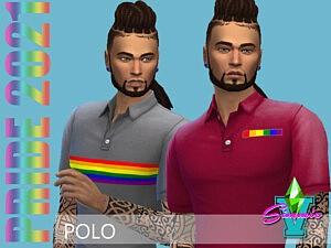 SimmieV Pride21 Polo
