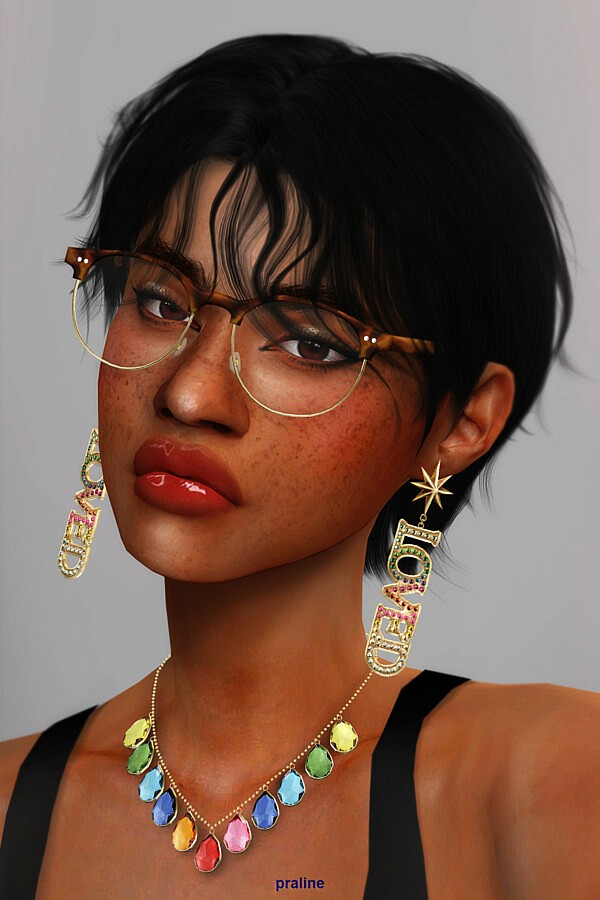 LIBELLULE & PAPILLON Glasses Duo from Praline Sims