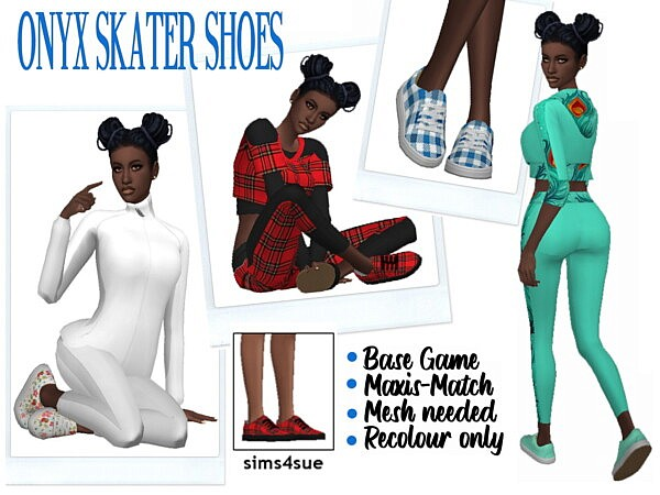 Skater Shoes Recolored