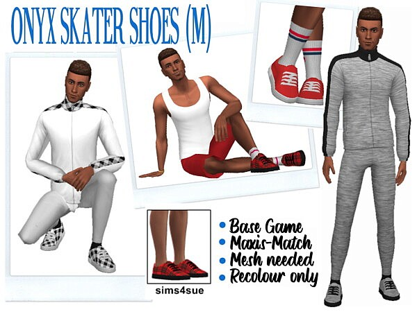 Skater Shoes sims 4 cc