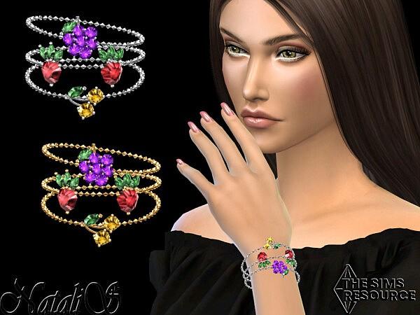 Summer berrys bracelets