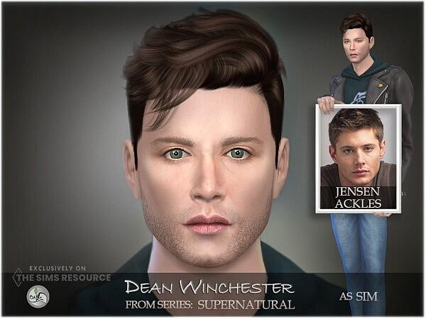 Supernatural   SIM Dean Winchester by BAkalia from TSR