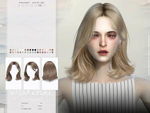 TO0607 Hair sims 4 cc