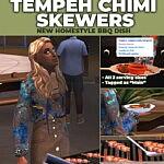 Tempeh Chimichurri Skewers New Custom Recipe