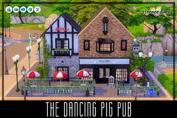 The Dancing Pig Pub sims 4 cc