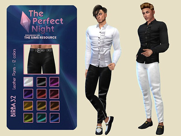 The Perfect Night Leather Pants