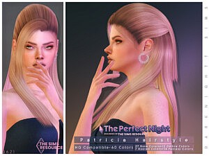 The Perfect Night Patricia Hairstyle