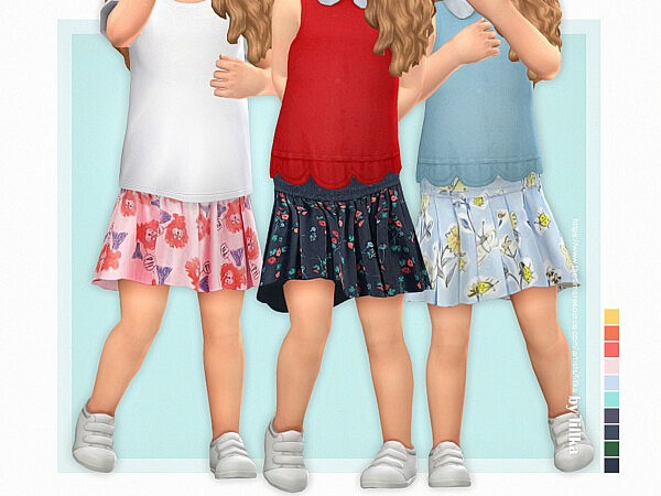 Toddler Skirt P05