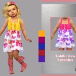Toddler dress Priscila