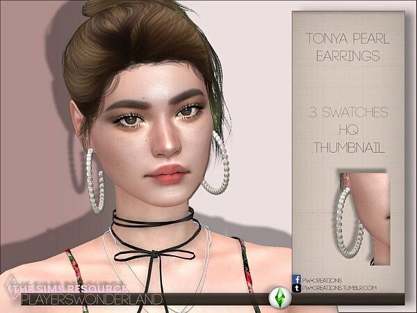 Tonya Pearl Earrings1
