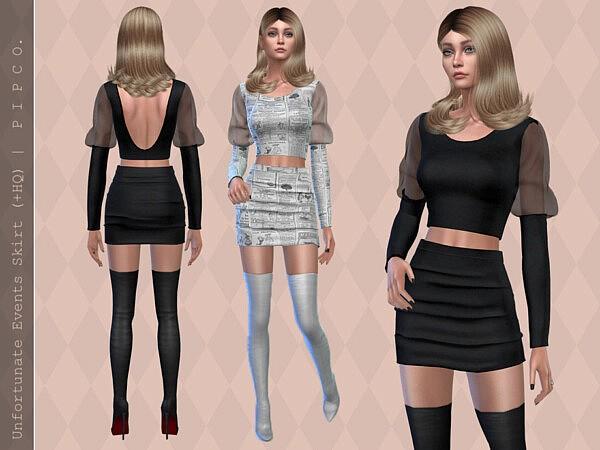 Unfortunate Events Skirt II