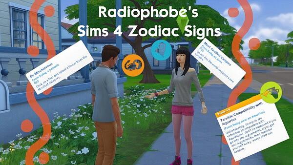 Zodiac Signs 2.1 sims 4 cc