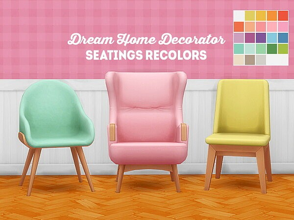 dream home decorator seatings recolors