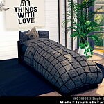 shiokei single bed 02 sims 4 cc