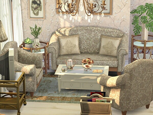 Vintage Living and Dining Room by Flubs79 from TSR