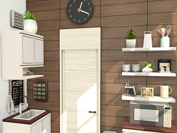 Modern Wood Kitchen by Flubs79 from TSR
