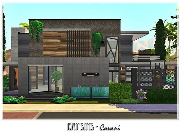 Cavani House by Ray Sims from TSR