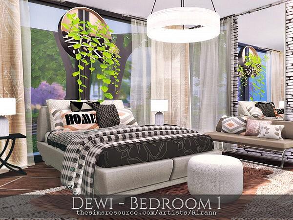 Dewi Bedroom 1 by Rirann from TSR