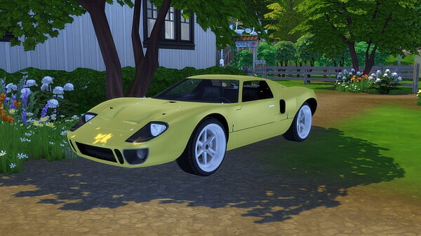 1969 Ford GT40 Mk.I from Modern Crafter