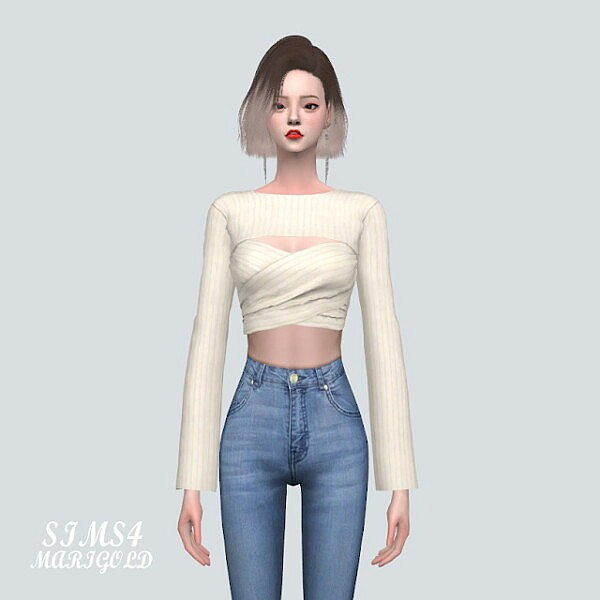 90 X Top from SIMS4 Marigold