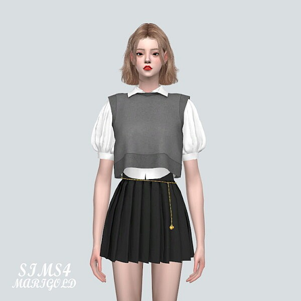 Summer Vest With Shirts from SIMS4 Marigold