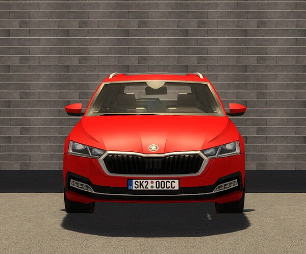 2020 Skoda Octavia Combi by SimsCraft from Mod The Sims