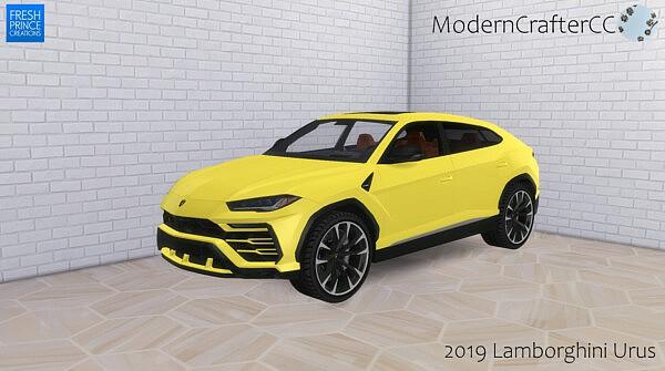2019 Lamborghini Urus from Modern Crafter