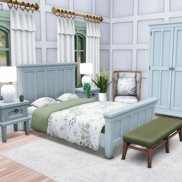 Hinterlands Bedroom from Simsational designs