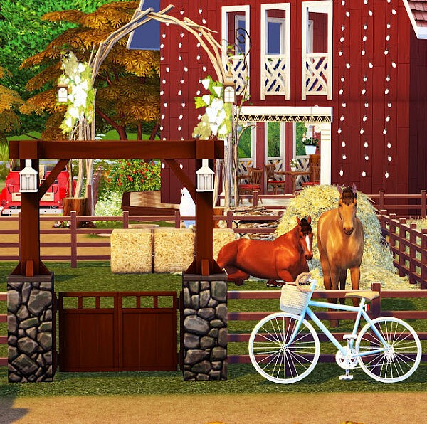 Farm Ville from Liily Sims Desing