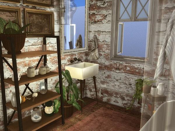 Farmhouse bathroom by GenkaiHaretsu from TSR