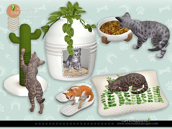 Naturalis Pets decor by SIMcredible! from TSR
