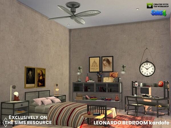 Leonardo Bedroom by kardofe from TSR