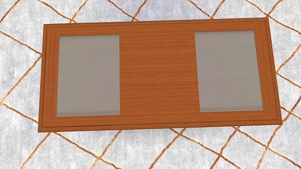 Modern Center Coffee Table by AdonisPluto from Mod The Sims