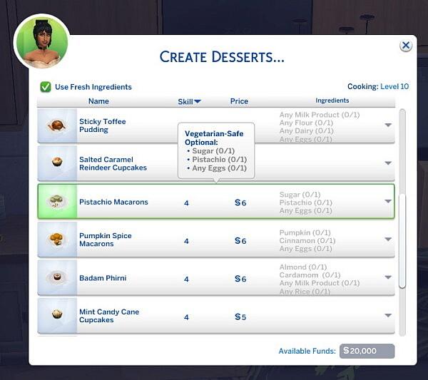 Pistachio Macarons   New Custom Recipe by RobinKLocksley from Mod The Sims