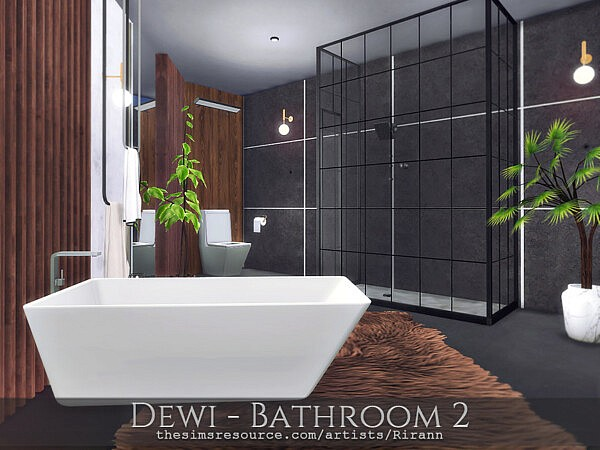 Dewi   Bathroom 2 by Rirann from TSR