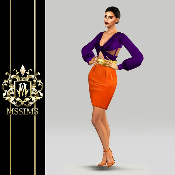 Spring Ready To Wear Dress from MSSIMS