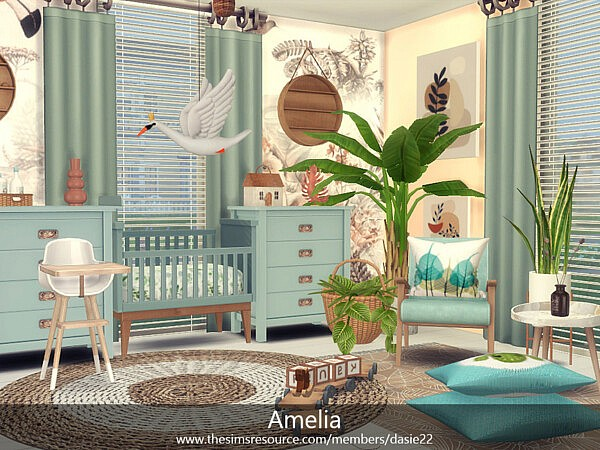 Amelia bedroom by dasie2 from TSR