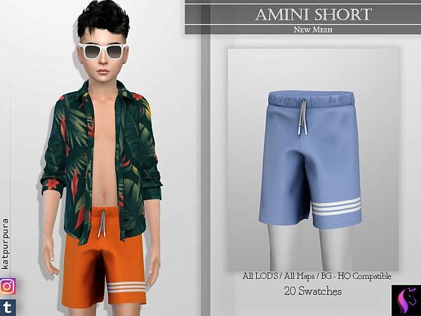Amini Short by KaTPurpura from TSR