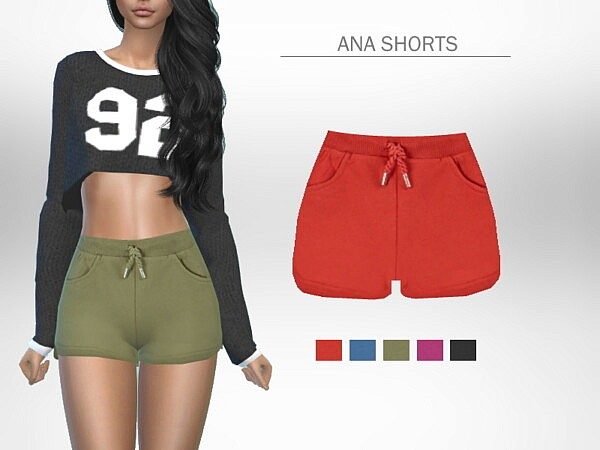 Ana Shorts by Puresim from TSR