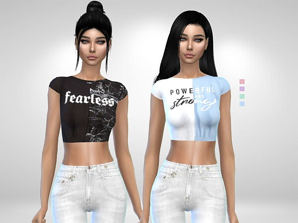 Annie Tops by Puresim from TSR