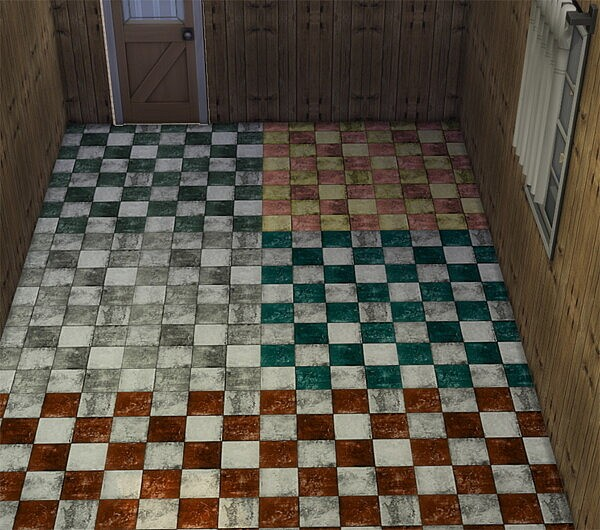 Apocalypse Floor Tiles by Wicked Old Witch from Mod The Sims
