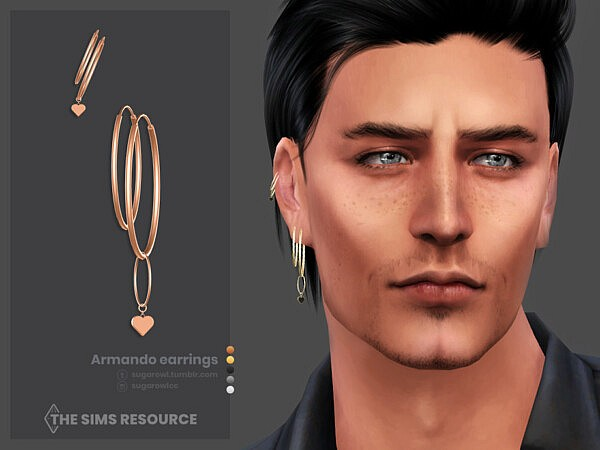 Armando earrings right by sugar owl from TSR