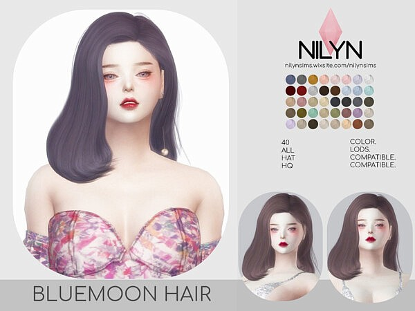 Bluemoon hairstyle from TSR