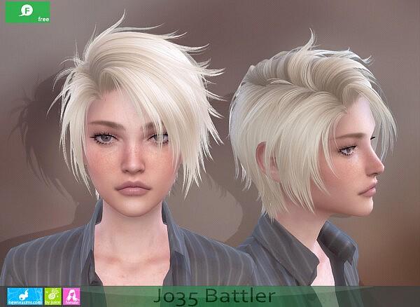 Battler Hair F from NewSea