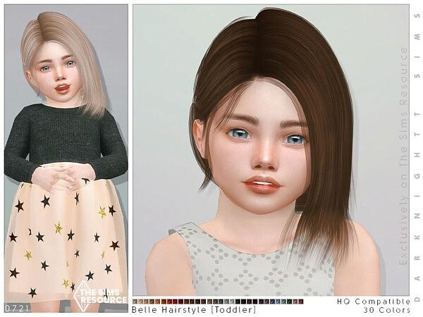 Belle Hairstyle TG by DarkNighTt from TSR