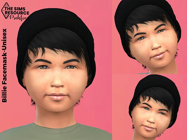 Billie Child Facemask by Pinkfizzzzz from TSR