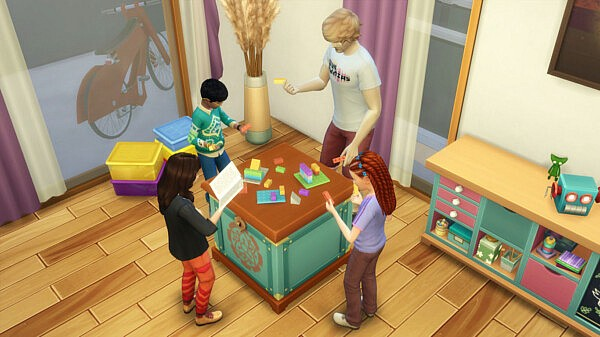 Buildems Blocks on Any Table by K9DB from Mod The Sims