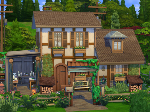 Candle Maker Cottage by Flubs79 from TSR